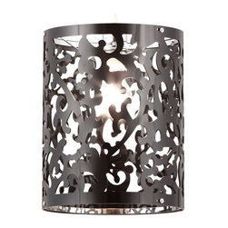 Casimir Ceiling Lamp Black - Zuo Modern Casimir Ceiling Lamp BlackCasimir is elegant and classic. The Casimir ceiling lamp is an excellent way to add a splash of classic flare to a modern room. This lamp is created from an acrylic that is laser cut into the design. It's UL approved.Finish: Chrome