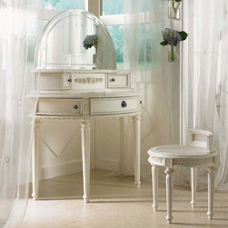 Lea Children's Furniture - Emmas Treasures Vanity with Mirror - Emmas Treasures Vanity with Mirror