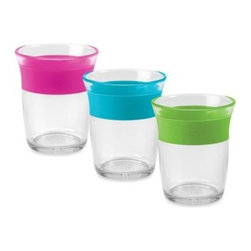 Oxo Tot - OXO Tot Cup for Big Kids - For children ready for a grown-up drinking cup, the OXO Tot Cup for Big Kids is a perfect solution. The cup's soft ring ensures a secure and comfortable grip, and the clear construction makes it easy to see how much liquid is inside to minimize spills.