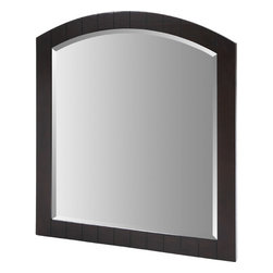 """Xylem - Capri Wall Mirror - The understated, elegant design of the capri collection from Xylem can be configured to a variety of sizes. Use these matching wall mirrors to complement the capri vanity collection. Features: -Wall mirror. -Capri collection. -Beveled edge mirror. -Birch veneer over solid poplar. -Hangs using wall cleats for easy installation and leveling. -CARB Compliant. -Overall dimension: 40"""" H x 36"""" W ."""