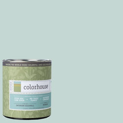 Inspired Eggshell Interior Paint, Wool .01, Quart - Colorhouse paints are zero VOC, low-odor, Green Wise Gold certified and have superior coverage and durability. Our artist-crafted colors are designed to be easy backdrops for living. Colorhouse paints are 100% acrylic with no VOCs (volatile organic compounds), no toxic fumes/HAPs-free, no reproductive toxins, and no chemical solvents.