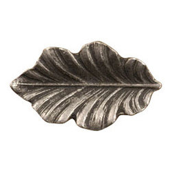 Anne at Home Hardware - Fancy Oak Leaf  Knob, Antique Bronze - Made in the USA - Anne at Home customized cabinet hardware enables even the most discriminating homeowner to achieve the look of their dreams.  Because Anne at Home cabinet hardware is designed to meet your preferences, it may take up to 3-4 weeks to arrive at your door. But don't let that stop you - having customized Anne at Home cabinet knobs and pulls are well worth the wait!   - Available in many finishes.