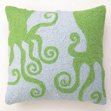 Contemporary Pillows by Rosenberry Rooms