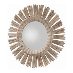 Arteriors Home - Vendome Hand Carved Solid Wood Starburst Mirror - DR2025 - Vendome Collection Mirror