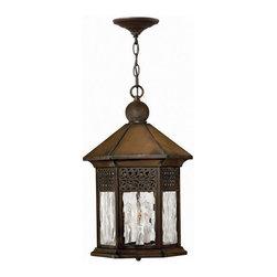 Hinkley Lighting - Hinkley Lighting 2992SN Westwinds Sienna Outdoor Hanging Lantern - Hinkley Lighting 2992SN Westwinds Sienna Outdoor Hanging Lantern