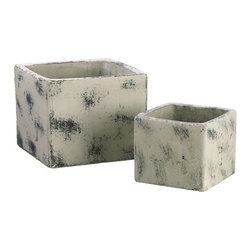 Silk Plants Direct - Silk Plants Direct Square Terra Cotta Planter (Pack of 3) - Silk Plants Direct specializes in manufacturing, design and supply of the most life-like, premium quality artificial plants, trees, flowers, arrangements, topiaries and containers for home, office and commercial use. Our Square Terra Cotta Planter includes the following: