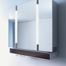 Bathroom Tri View Mirror Medicine cabinets