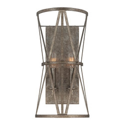 Savoy House - Savoy House 9-9124-2-285 Rail 2 Light Sconce - Savoy House 9-9124-2-285 Rail 2 Light Sconce