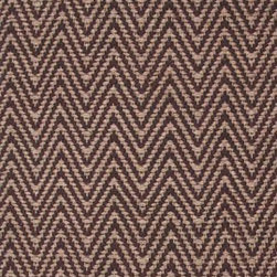 Hook & Loom Rug Company - Herringbone Taupe/Brown Rug - Very eco-friendly rug, hand-woven with yarns spun from 100% recycled fiber.  Color comes from the original textiles, so no dyes are used in the making of this rug.  Made in India.