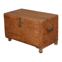 Grinnell Primitive Reclaimed Wood Storage Coffee Table Chest - In the spirit of historic trunks, we offer you Grinnell Primitive Reclaimed Wood Storage Coffee Table Chest.