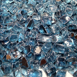 """American Fireglass Pacific Blue Reflective 