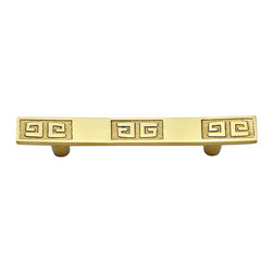 Griffin Pull-Brass - Material: Solid Brass