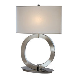 Trend Lighting - Infinity Table Lamp, Polished Chrome Finish - -120 Volts