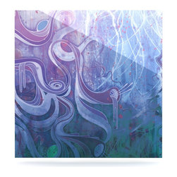 """Kess InHouse - Mat Miller """"Electric Dreams II"""" Metal Luxe Panel (8"""" x 8"""") - Our luxe KESS InHouse art panels are the perfect addition to your super fab living room, dining room, bedroom or bathroom. Heck, we have customers that have them in their sunrooms. These items are the art equivalent to flat screens. They offer a bright splash of color in a sleek and elegant way. They are available in square and rectangle sizes. Comes with a shadow mount for an even sleeker finish. By infusing the dyes of the artwork directly onto specially coated metal panels, the artwork is extremely durable and will showcase the exceptional detail. Use them together to make large art installations or showcase them individually. Our KESS InHouse Art Panels will jump off your walls. We can't wait to see what our interior design savvy clients will come up with next."""