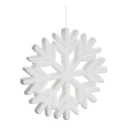 Silk Plants Direct - Silk Plants Direct Glitter Snowflake Ornament (Pack of 4) - Pack of 4. Silk Plants Direct specializes in manufacturing, design and supply of the most life-like, premium quality artificial plants, trees, flowers, arrangements, topiaries and containers for home, office and commercial use. Our Glitter Snowflake Ornament includes the following: