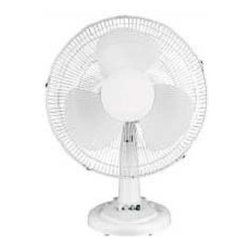 OPTIMUS - Optimus F1211 Table Fan Oscillating 12 Inch - Optimus F1211 Table Fan Oscillating 12 Inch