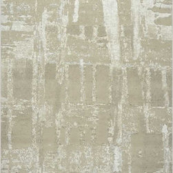 """Dynamic Rugs - Dynamic Rugs Mysterio 1205-110 (Beige) 7'10"""" x 10'10"""" Rug - Colorations in this new collection features the interlacing of metallic tones, from pewter to lighter silver, and natural shades of browns, beiges and Ivory in transitional designs to complement today's modern, high fashion looks in home decoration. The rugs are power woven in Belgium with a dense heat set polypropylene pile. In the construction random double pointing density and drop stitch weaving techniques are used to create lovely textured finishes which are evident both visually and to the touch."""