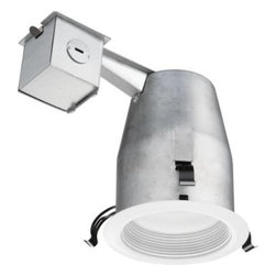 Lithonia Lighting - Lithonia Lighting 4 in. Recessed Matte White LED Baffle Kit LK4BPMW LED HDCOM U - Shop for Lighting & Fans at The Home Depot. The LED 4 in. Recessed Matte White Baffle Kit from Lithonia Lighting makes shopping for and installing recessed down lighting easy by conveniently including a 4 in. remodel housing, decorative trim with integrated LEDs, wire nuts and a cutting stencil all in one box. The energy efficient integrated LEDs operate for 28,000 hours without maintenance, which means you never have to buy or change a bulb. The kit can be converted to new construction using hanger bars and construction pan accessories.