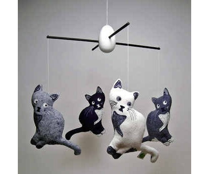 Eclectic Baby Mobiles by House & Hold