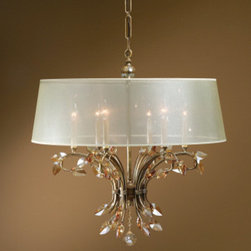 "21246 Alenya, 6 Lt Chandelier by uttermost - Get 10% discount on your first order. Coupon code: ""houzz"". Order today."