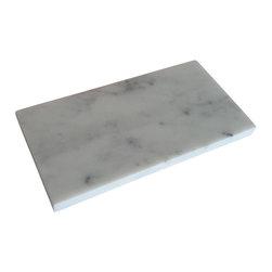 "Tiles R Us - Italian Carrara Marble Honed 3x6 Subway Tile, 1 Sq. Ft. - Premium Italian Carrara Marble Honed 3"" X 6"" Subway Tile"