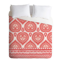 DENY Designs - Aimee St Hill Decorative 1 Duvet Cover - Turn your basic, boring down comforter into the super stylish focal point of your bedroom. Our Luxe Duvet is made from a heavy-weight luxurious woven polyester with a 50% cotton/50% polyester cream bottom. It also includes a hidden zipper with interior corner ties to secure your comforter. it's comfy, fade-resistant, and custom printed for each and every customer.