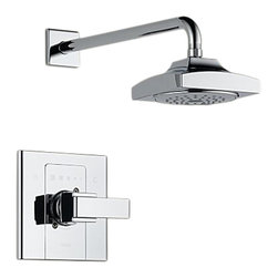 Delta - Delta T14286 Arzo Monitor 14 Series Shower Trim (Chrome) - Delta T14286 Arzo Collection has a bold angular shape and for a comtemporary addition to your home. The Delta T14286 is a Monitor Shower Only Trim in Chrome.