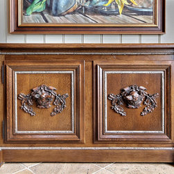 Timpson Creek Gallery - Lake Burton - Custom made by Dwayne Thompson, Sideboard, Timpson Creek Millworks, TV lift cabinet,
