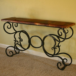 Alexander Console Table by Mathews & Co. - Dimensions: