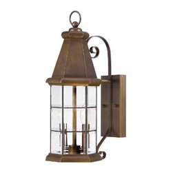 Savoy House - Savoy House 5-5950-290 Regent 2 Light Wall Lantern in Burnished Sienna 5-5950-29 - Regent has distinctive lines and timeless charm that add visual appeal to your outdoor spaces. These lanterns have faceted beveled glass panels and a Burnished Sienna finish that is warm and appealing.Backplate Height: 8-1 4 Backplate Width: 4-1 2 Bulb Incuded: No Bulb Type: Incandescent Candle Cover Type: Burnished Sienna Metal Collection: Regent Dark Sky: No Extends: 9-3 4 Finish: Burnished Sienna Glass: Clear Bevel Height: 19-1 2 Number of Lights: 2 Photocell: No Safety Rating: UL, CUL Shade Shape: Cylinder Socket 1 Base: Candelabra Socket 1 Max Wattage: 60 Solar: No Style: Traditional Suggested Room Fit: Outdoor UL Wet Location: Yes Voltage: 120 Wattage: 60 Weight: 11 Width: 7-1 2