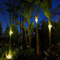 modern outdoor lighting by McKay Landscape Lighting
