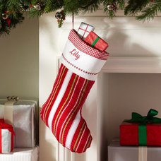 Contemporary Christmas Stockings And Holders by Pottery Barn Kids