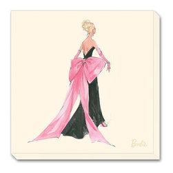 Artcom - Barbie&#0153, Big Pink Bow by Robert Best - Barbie&#0153, Big Pink Bow by Robert Best is a Stretched Canvas Print.