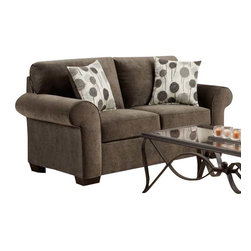 Chelsea Home Furniture - Chelsea Home Worcester Loveseat in Elizabeth Ash - Worcester loveseat in Elizabeth Ash belongs to the Chelsea Home Furniture collection .