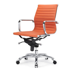 Meelano - M344 Office Chair in Orange -
