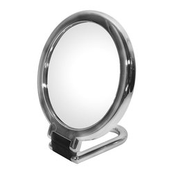 WS Bath Collections - Toeletta 387-3KK Table Magnifying Mirror 3x in Chrome - Toelleta 387-3KK Table Magnifying Mirror in Chrome