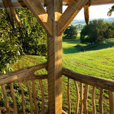 Tropical  by Hugh Lofting Timber Framing, Inc.