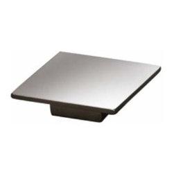 Richelieu Hardware - Richelieu Contemporary Metal Square Pull 32mm Cc Nickel - Richelieu Contemporary Metal Square Pull 32mm Cc Nickel