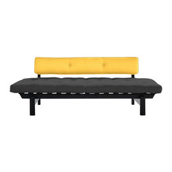 Karup Design - Karup Design Dubstep Sofa, Grey-Amarillo - The Dubstep Sofabed is Young, fresh, stylish and incredibly versatile whether it's an unexpected guest or as a comfortable lounger.