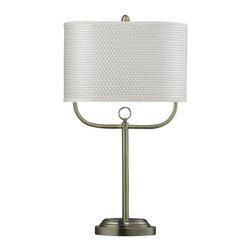 Dimond Lighting - Dimond Lighting HGTV256BR HGTV Home Antique Brass Table Lamp - Dimond Lighting HGTV256BR HGTV Home Antique Brass Table Lamp