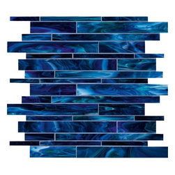 "treasure collection: blue saphire mosaic 12""x12"" -"