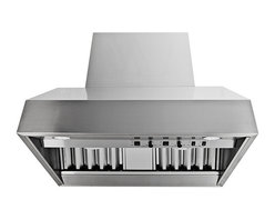 Proline - Proline ProV Professional Wall Mount/Under Cabinet Range Hood, 30 - ProV Professional Wall Mount/Under Cabinet Range Hood Full Variable Speed, Heat Lamps, Baffle Filters and Energy Efficient LED Lights, available with Local, In-line or Roof Mount Blower options. The ProLine ProV models are made to go head to head with Viking, Wolf, Thermador or any other brand and win hands down in side by side comparison for value, application, flexibility and performance. We guarantee you will not be disappointed! 100% BEAUTIFUL STAINLESS STEEL, (INCLUDING THE TOP AND BACK) EASY TO INSTALL AND MAINTAIN, AND THEY CAN BE USED WITH ANY VARIABLE SPEED, UL LISTED REMOTE BLOWER! BEAUTIFUL AND FUNCTIONAL THESE HOODS ARE DESIGNED FOR INTERIOR OR EXTERIOR USE! Made for the Professional the ProV line of wall hoods and inserts are the latest in our line of professional quality range hoods at reasonable prices from ProLine.  * This ships FREE Standard Shipping.