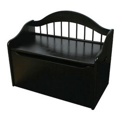 Kidkraft - KidKraft Limited Edition Toy Chest/Box in Black - Kidkraft - Toy Boxes and Chests - 14181 - Our Limited Edition Toy Chest keeps rooms tidy with style. This chest would be a great addition to any kid's room.