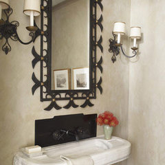 Powder Room Decorating Ideas - Powder Room Design and Pictures - House Beautiful