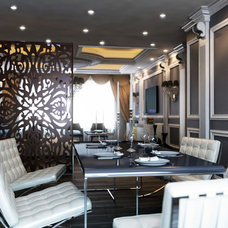 Contemporary Dining Room by Lompier Interior Group
