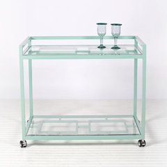 eclectic bar carts by Candelabra
