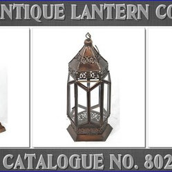 Copper Antique Lanterns
