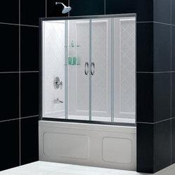 Bathauthority Llc Dba Dreamline Visions Clear Glass Tub