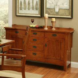 AYCA Furniture - Heartland Manor Side Board - Heartland Manor Side Board