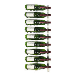 VintageView 27 Bottle Metal Wine Rack